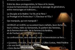 """""""La Maison des Hommes""""  verso"""